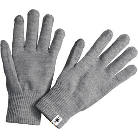 Smartwool Guantes Liner, silver grey heather